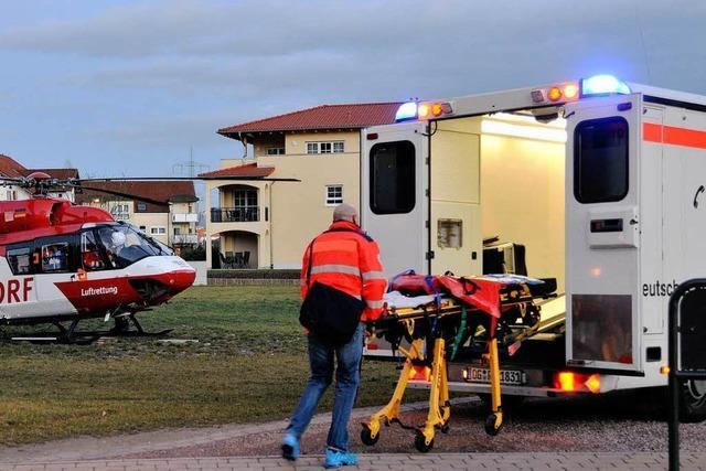 Unfall in Rust: Schwerverletzte außer Lebensgefahr