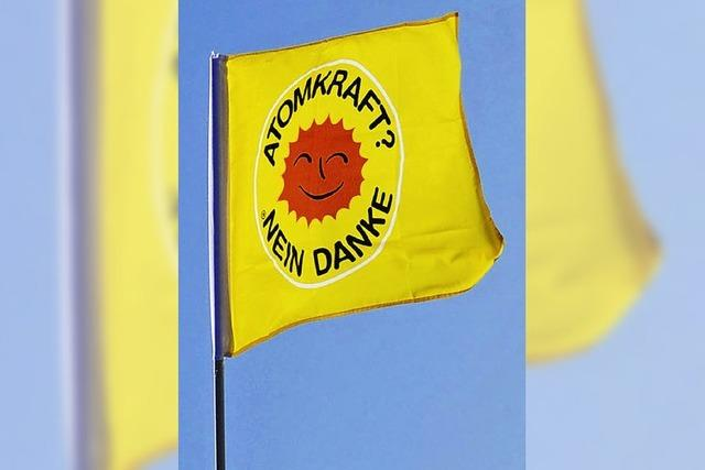 Zeichen gegen Atomkraft