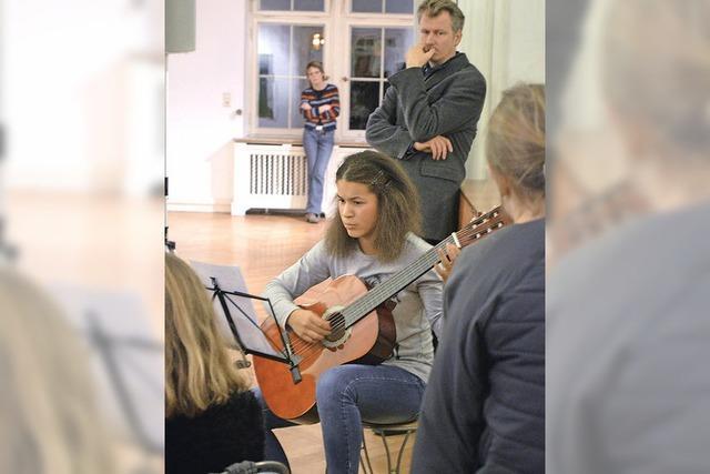 Künstler aus dem Publikum