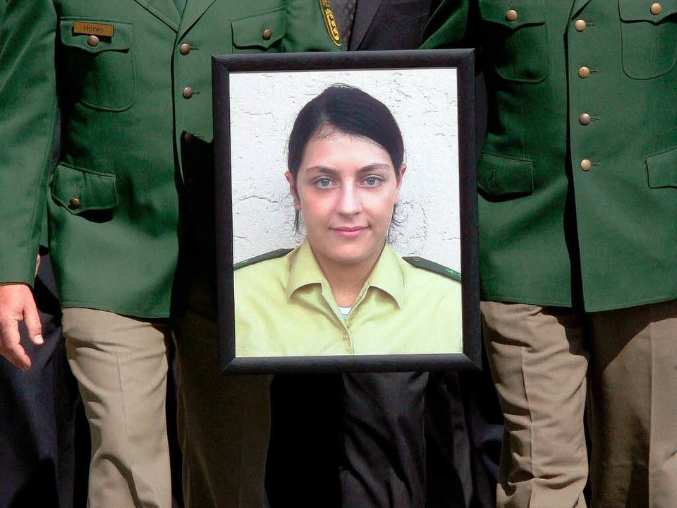 Die vom NSU in Heilbronn ermordete Polizistin Kiesewetter   | Foto: dpa