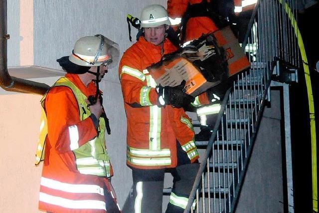 Brand in Oberschopfheim richtet 50.000 Euro Schaden an
