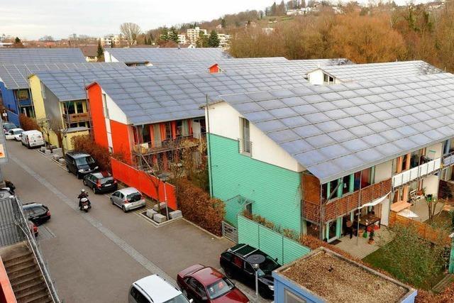 Wissenschaftler kritisieren Vorzeigeprojekt Solarsiedlung