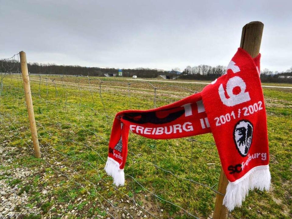 Dass irgendwann mal SC-Fans auf der Lehener Neumatte jubeln, ist unrealistisch.   | Foto: Michael Bamberger