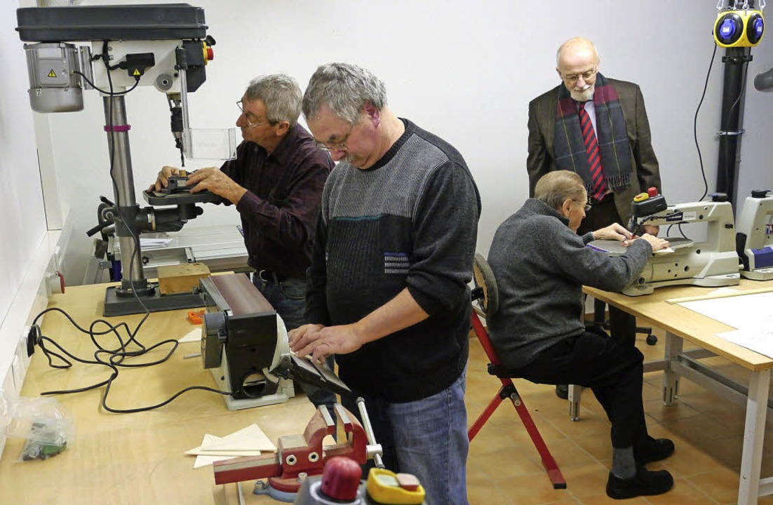 Bestens ausgestattet öffnet sich die n...uch interessierten Senioren von außen.    Foto: Christel Hülter-Hassler
