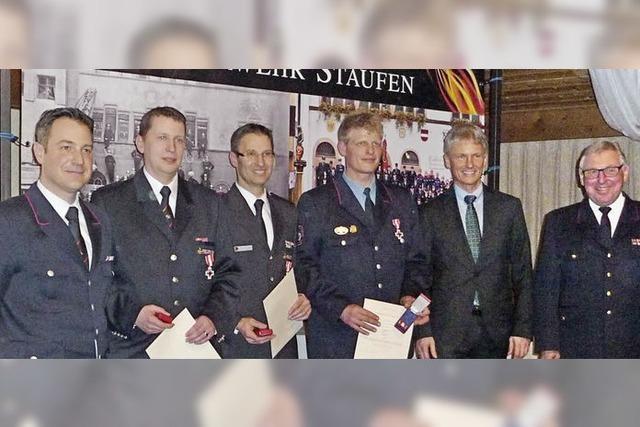 Die Feuerwehr Staufen wurde 2013 zu 144 Einsätzen gerufen