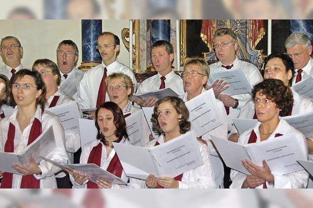 Chor lädt zum Kirchenkonzert