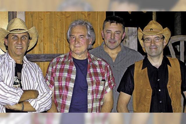 Bonanza-Party mit der Country-Band