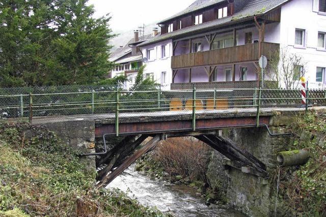 Stahlbrücke muss erneuert werden