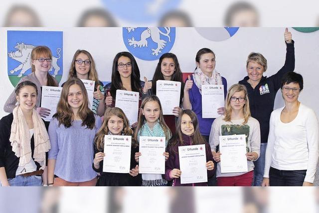 Jugend trainiert für Olympia: Turnerinnen erfolgreich dabei