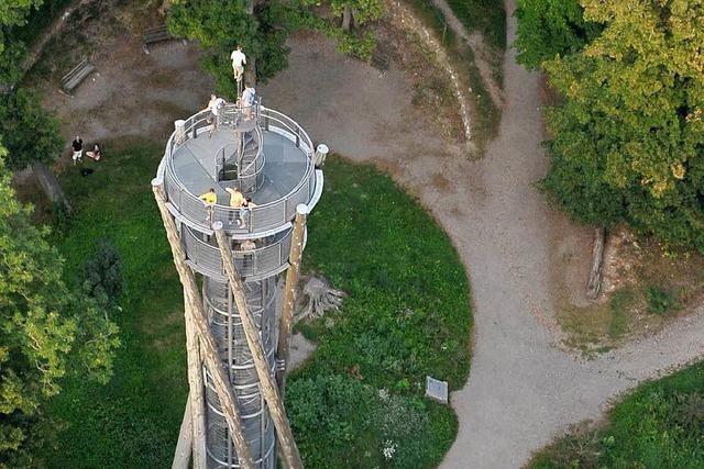 Pilzbefall: Stadt sperrt Schlossbergturm
