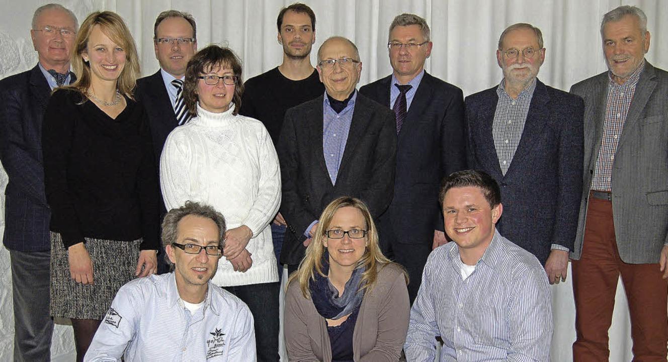 Auf der CDU-Liste für den Gemeinderat ...Defrenne, Elke Köpfer, Fabian Schmidt     Foto: Claudia Renk