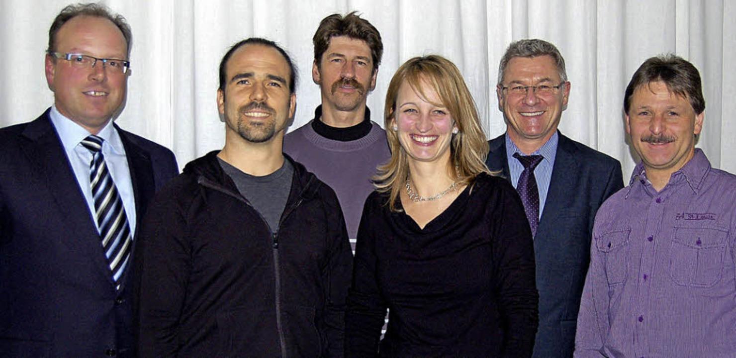 Kandidaten für den Ortschaftsrat Menze...anne Schwer, Uwe Kaiser, Andreas Spitz    Foto: Claudia Renk