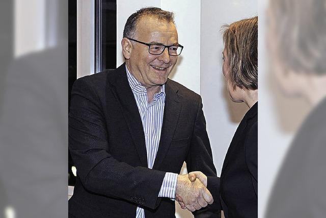 Dirk Jennewein am Ratstisch