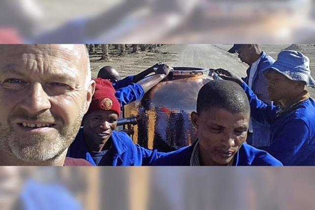 Gesucht: Schnapsbrenner in Namibia