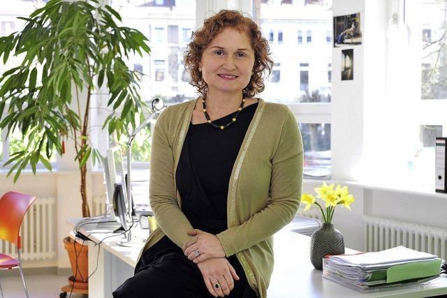 Die Politologin Susanne Sporrer leitet das Goethe-Institut