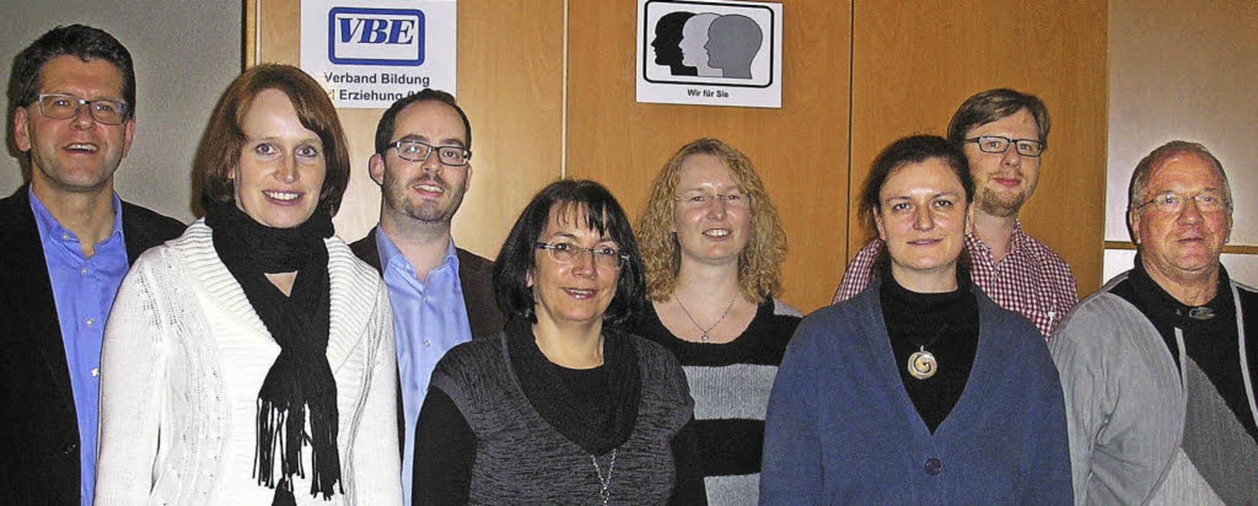 Beim VBE referierte Christoph Wolk (li..., Malte Haecker und Josef Schönsteiner    Foto: VBE