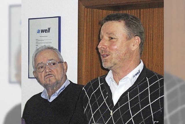 25 Jahre bei der Awell-Gruppe