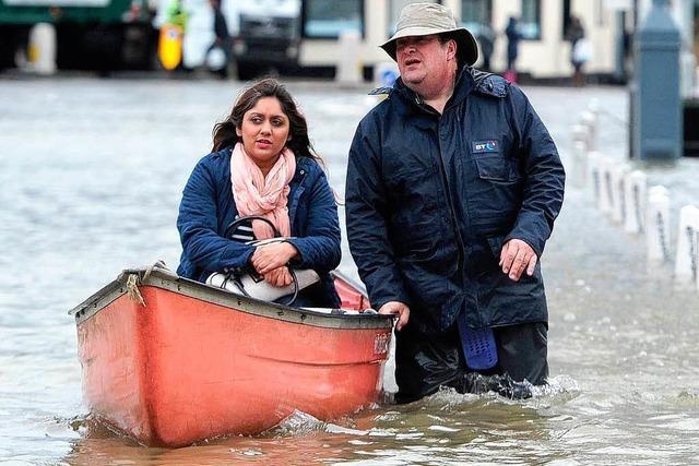 England erlebt die heftigsten Regenfälle seit 248 Jahren