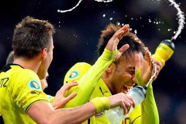 Dortmund erreicht in Frankfurt das Halbfinale im DFB-Pokal