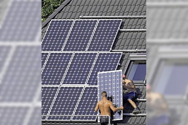Solarstrom selbst nutzen