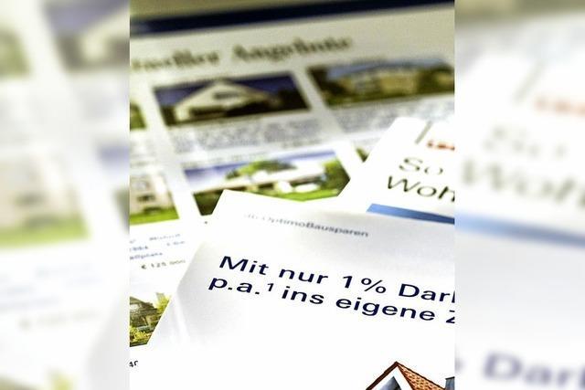 Cap-Darlehen: Deckel fürs Baudarlehen