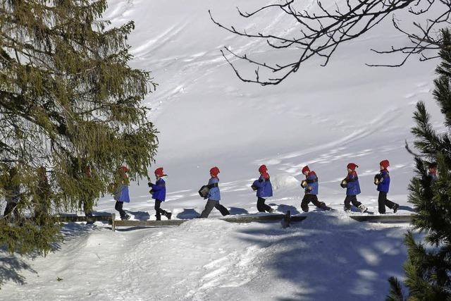 Chalandamarz im Engadin: Winter, ade!