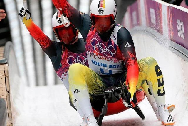 Wendl und Arlt holen drittes deutsches Rodel-Gold