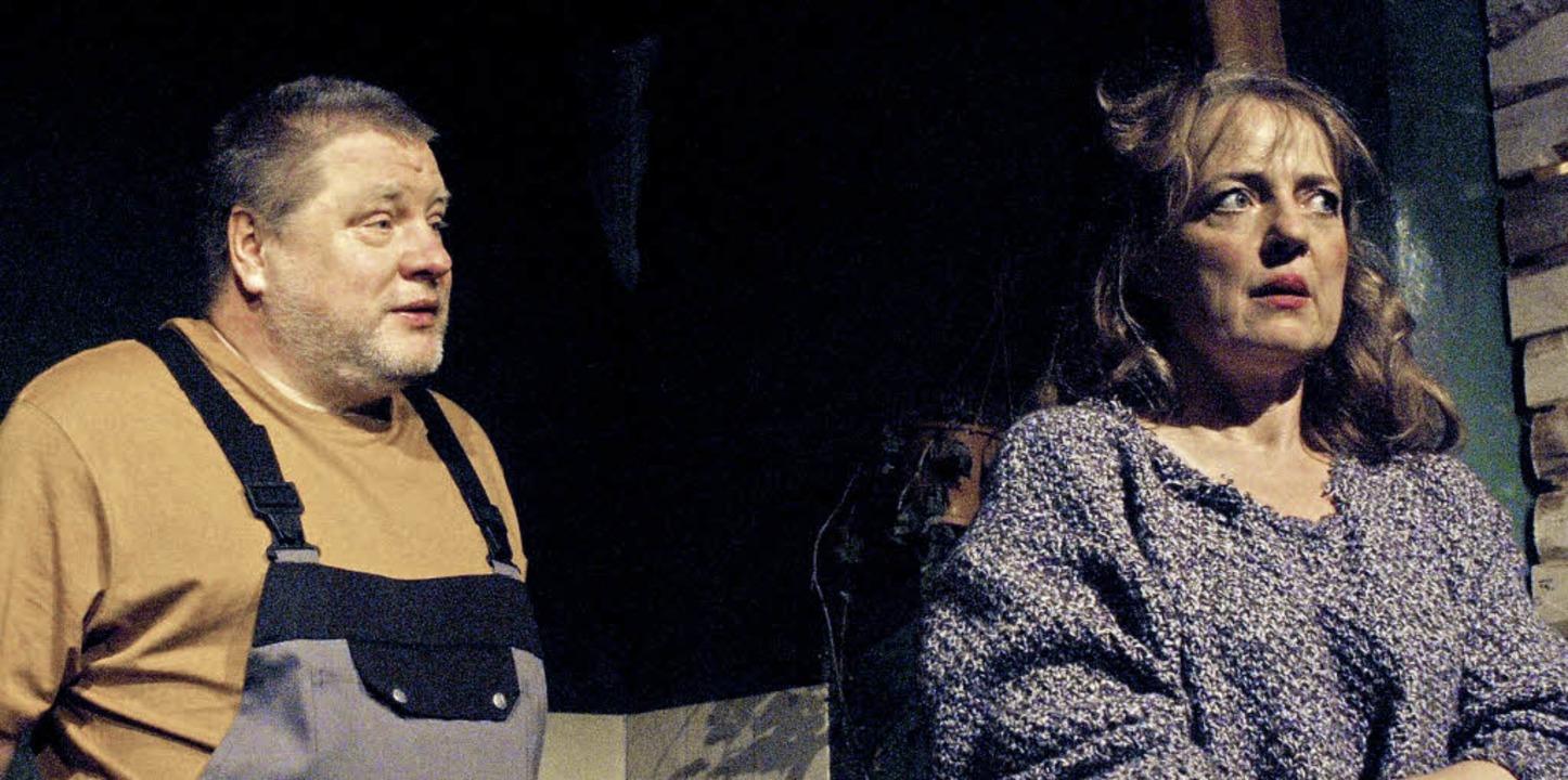 Wallgraben: Tagträumer. Mit Sybille Denker, Georg Blumreiter    Foto: Christine Deutsch