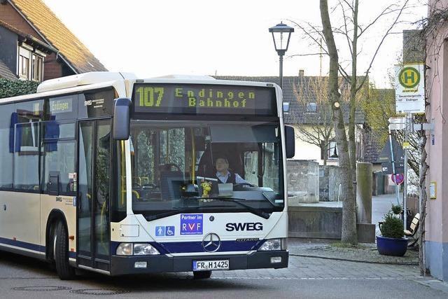 Bushaltestelle WG Leiselheim wird aufgegeben