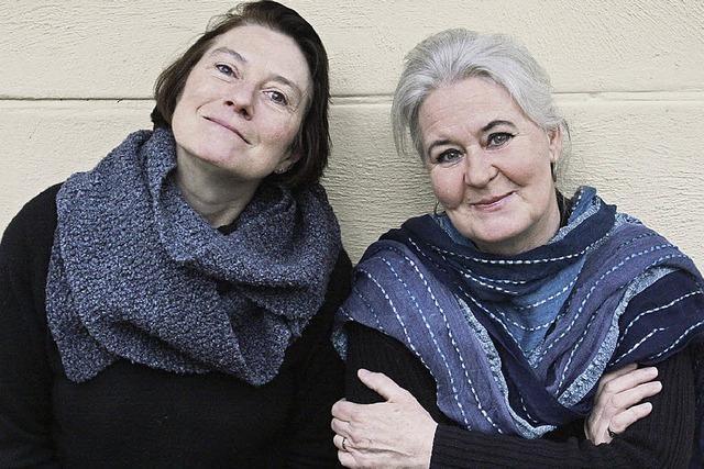 Susanne Doll und Claudia Adrario de Roche in Grenzach