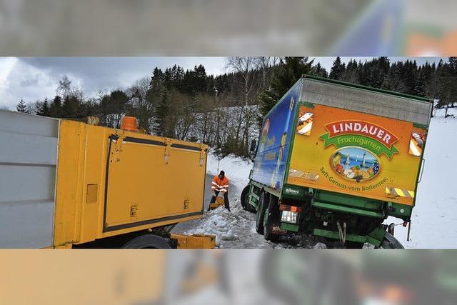 Ein Lastwagen