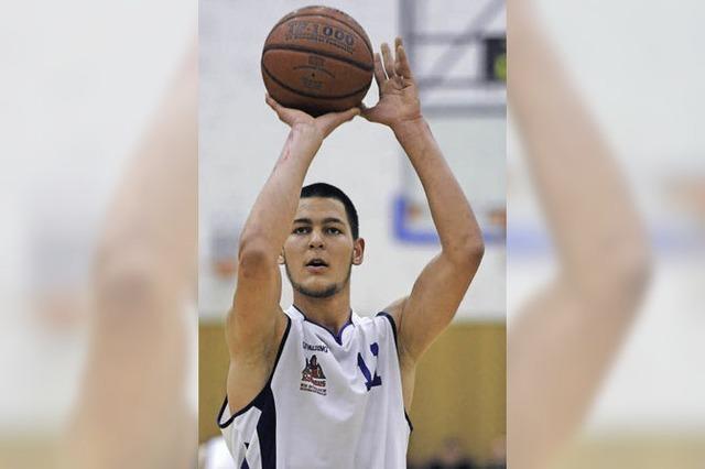 USC-Youngster Younes Saidani: Nicht nur Basketball im Kopf