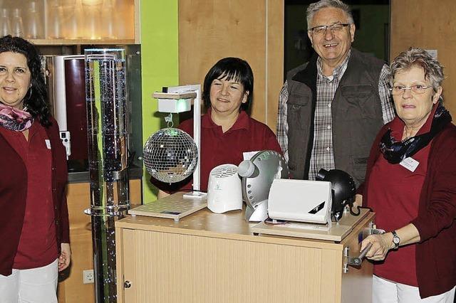 Mühlehof bekommt ein Sinnesmobil zur Aktivierung Demenzkranker