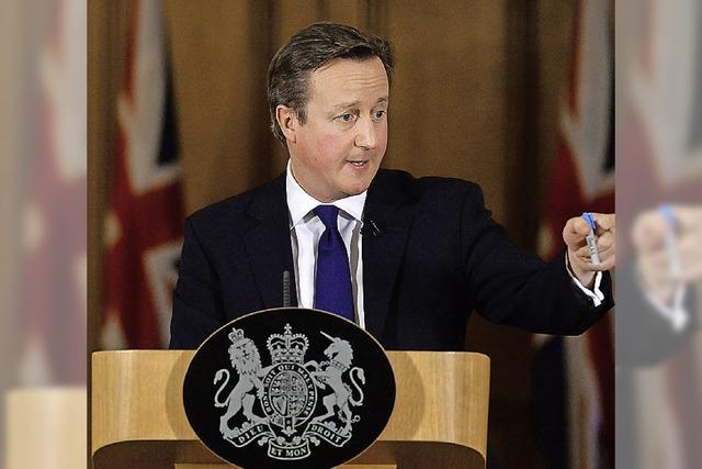 Briten sehen einer nassen Zukunft ihrer Insel entgegen