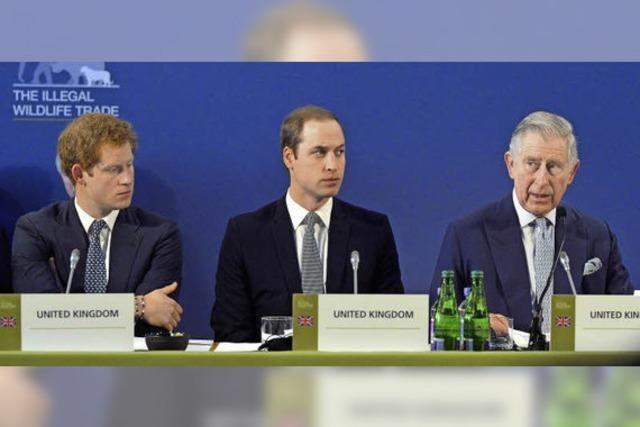 Englisches Königshaus positioniert sich gegen Wilderei