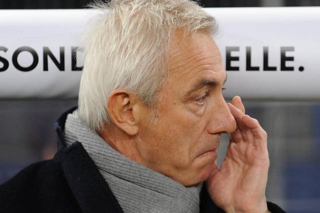 HSV-Trainerstuhl: Slomka und Schaaf im Gespräch