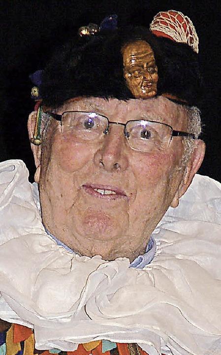 Seit 60 Jahren dabei:Franz Rudigier  | Foto: Hildegard Siebold