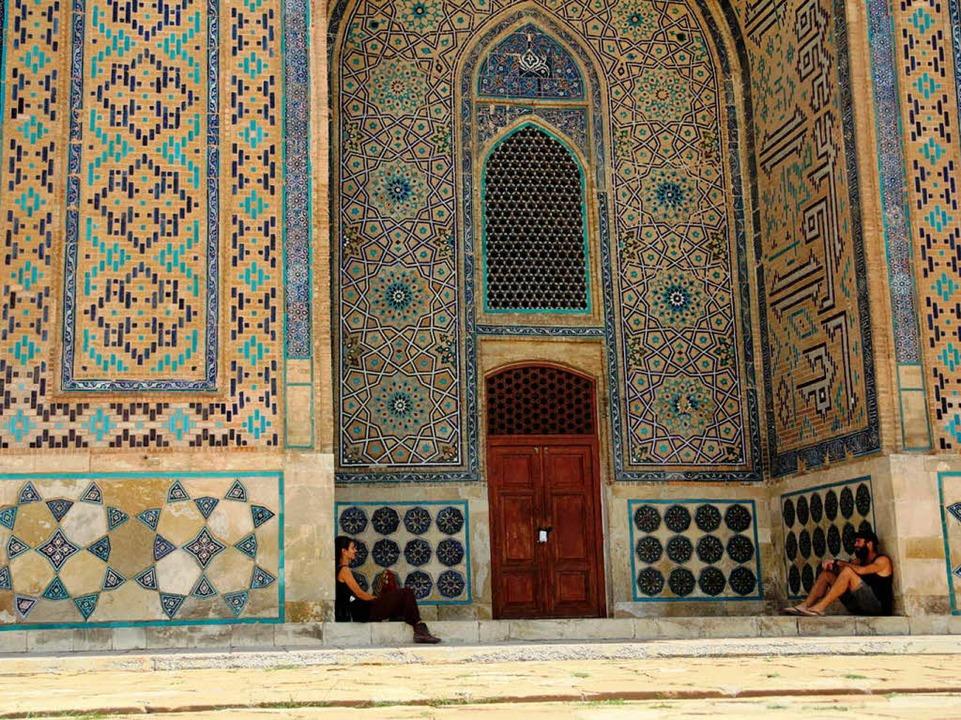 Monatelang durchqueren die Freiburger ...n Kasachstan legen sie eine Pause ein.  | Foto: Gwen Weisser