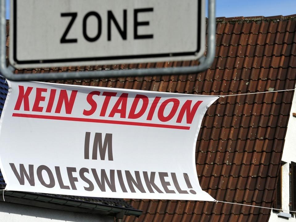 Bürgerinitiative sieht K.-O.-Kriterien beim Standort Wolfswinkel.  | Foto: Thomas Kunz