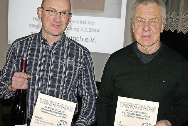 Erfolge der Turner und Volleyballer belohnt