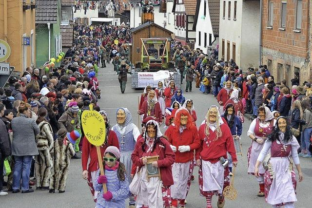 Wagenstadt ist fest in Narrenhand