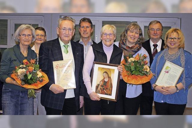 Chorgemeinschaft dankt Ursula Ries