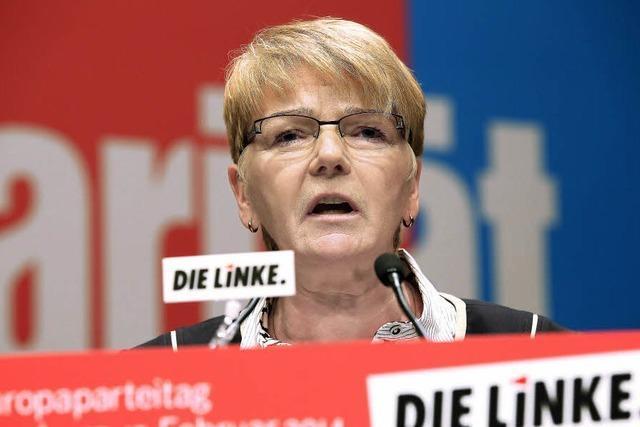 Linke entschärft Kritik an der EU