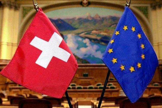 Streit um Freizügigkeit: EU setzt Verhandlungen mit Schweiz aus