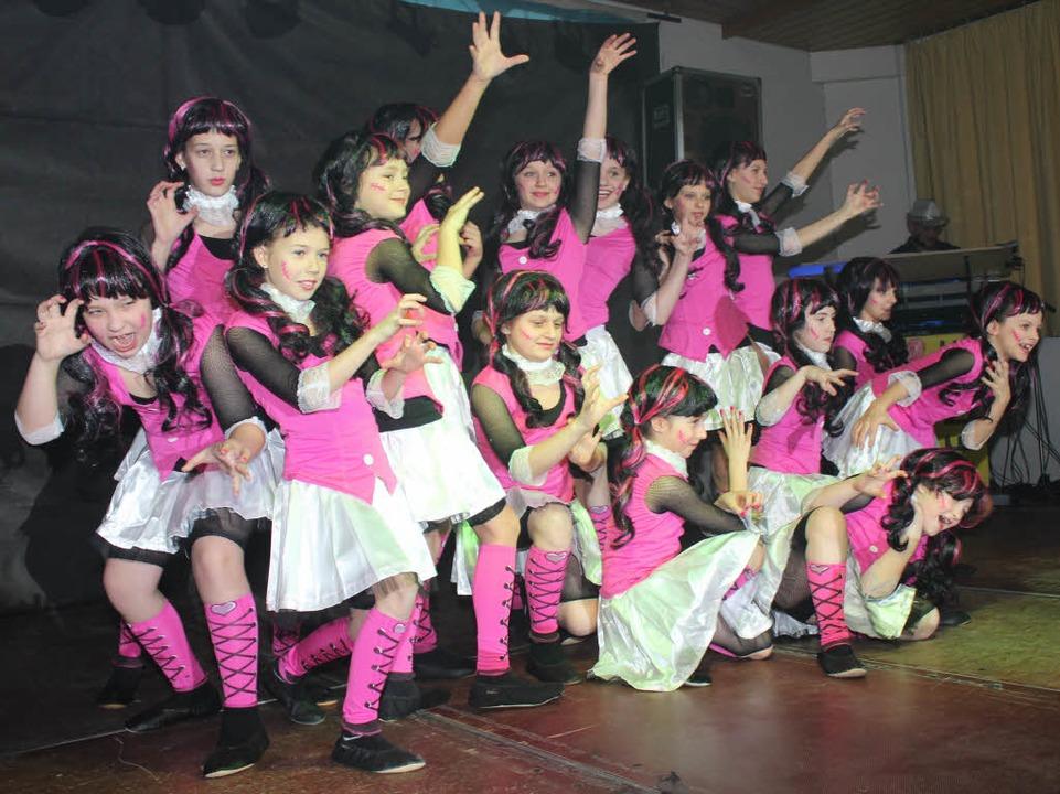 Großer Auftritt für das kleine Ballett  | Foto: Mario Schöneberg