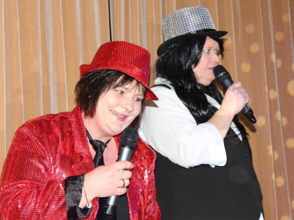 Die Moderatorinnen Thea Schlatter und Manuela Rein  | Foto: Mario Schöneberg