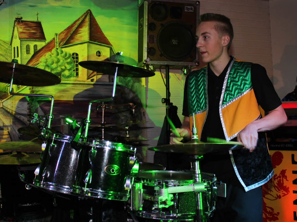 Auftritt der Jugend-Gugge Storze-Fätzer  | Foto: Mario Schöneberg