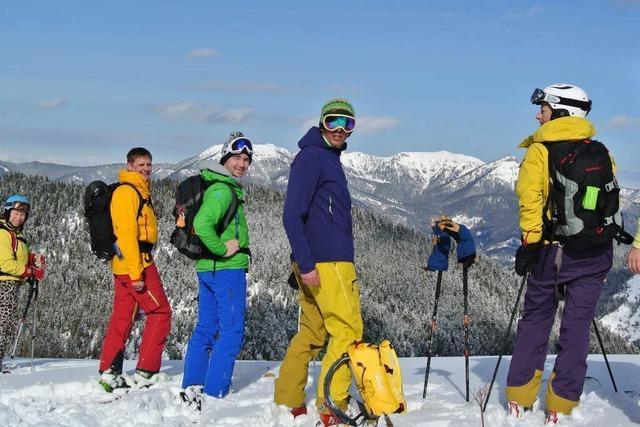 Drei Freerider aus Lahr erkunden die Tiefschneepisten im Kaukasus