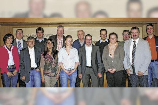 CDU tritt mit einer jungen Kandidatenliste an