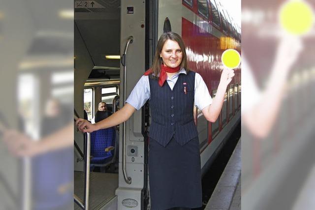 Ausbildungsberuf Zugbegleiterin: Deeskalation steht bei Marija Prokopova an oberster Stelle